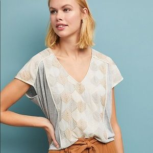 Just in!✴️ Sea Fan Embroidered Top